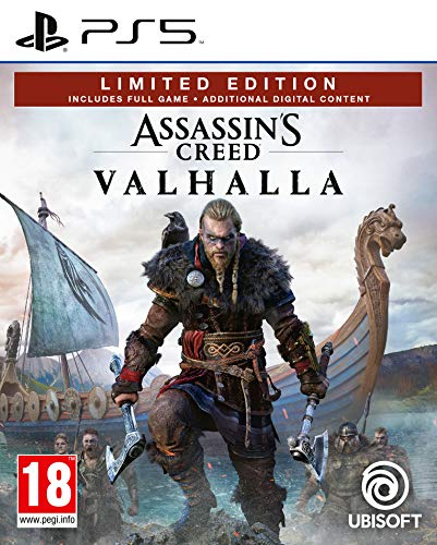 Assassin's Creed Valhalla Édition Limitée Amazon (PS5) 1