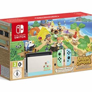 Console Nintendo Switch Animal Crossing : New Horizons Edition + Code de Téléchargement 5