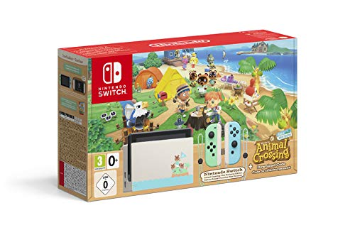 Console Nintendo Switch Animal Crossing : New Horizons Edition + Code de Téléchargement 1
