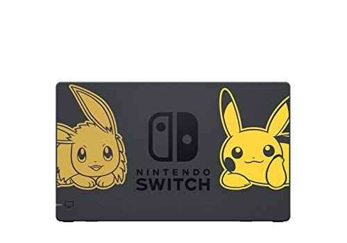 Nintendo Switch Let's Go Pikachu Limited Edition Console with Joycon, Pre-Installed Pokémon: Let's Go Pikachu + Pokeball Plus Controller (UK Version) 3