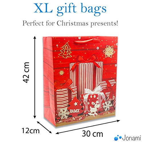 Red Xmas Bags Parent 3
