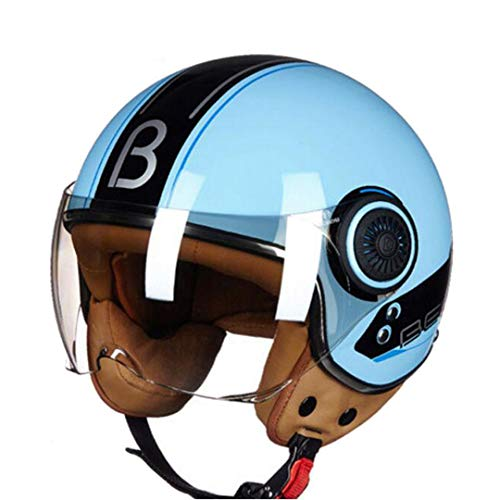 Sportinents Casque Moto Pays-Bas Harley Style Knight Protection ABS Casques Moto 4