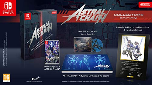 Switch - ASTRAL CHAIN - Collector's Edition - [PAL EU] 2