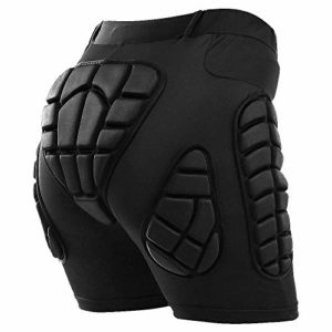 TOMSHOO Short de Protection Hip Pad Pantalon de Protection Cyclisme pour Patinage Snowboard Skating Ski Roller Vélo VTT Moto Descente Handball Rugby 5