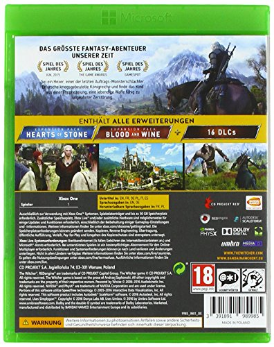The Witcher 3 - Wilde Jagd (Game Of The Year Edition) [Import allemand] 3