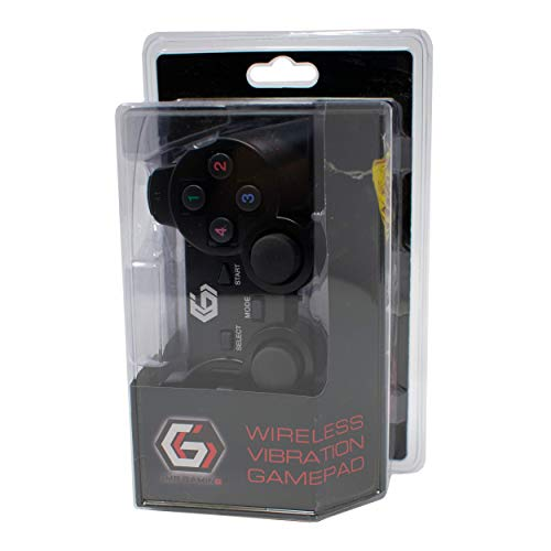 2.4GHz sans Fil Vibrations Double Gamepad/De Keux Contrôleur Joypad pour PS2/PS3/PC (Windows 7/8/10) / iCHOOSE 4
