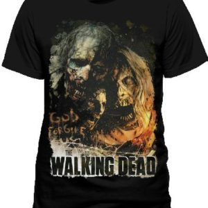 Cid The Walking Dead-Poster T-Shirt, Noir, (Taille Fabricant: Small) Homme 5