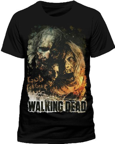 Cid The Walking Dead-Poster T-Shirt, Noir, (Taille Fabricant: Small) Homme 1