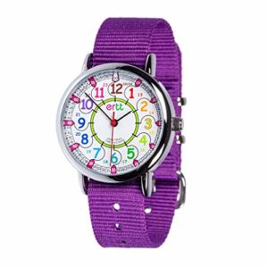 EasyRead Time Teacher ERW-COL-24 Montre d'apprentissage pour enfants 9