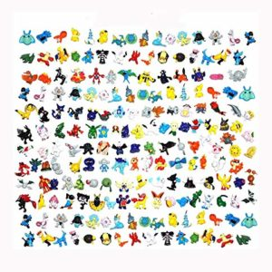 FHERIC poupées Pokémon Mini Figures Action Figures 2-3cm Jouets Action Figurines (144PCS) 9