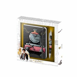 Harry Potter Train-Coffret cadeau journal et stylo 4