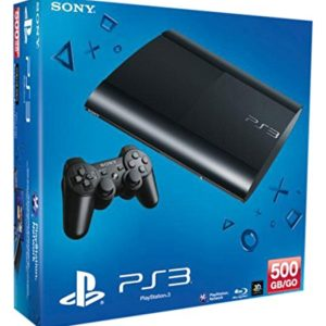 Playstation Sony Console PS3 Ultra Slim 500Go 56