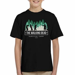 Survival Camp The Walking Dead Kid's T-Shirt 5