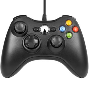 Xbox 360 Game Controller USB Wired Gamepad Game Joystick Joypad for Microsoft & Windows PC 6