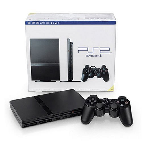 console playstation 2 slim noir PS2 slim noir 1