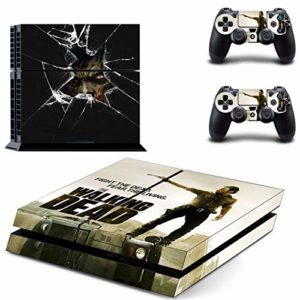 FENGLING The Walking Dead Ps4 Stickers Play Station 4 Skin Sticker Game Decals for Playstation 4 Ps4 Console & Contro 31