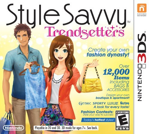 Style Savvy: Trendsetters - Nintendo 3DS by Nintendo 1