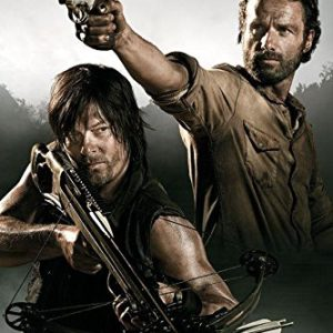 The Walking Dead Poster Rick Grimes & Daryl Dixon (61cm x 91,5cm) + 1 Powerstrips®, tesa adhésifs Double face-20pcs 5