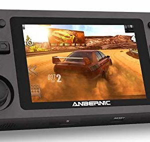 Anbernic RG351M Consoles de Jeux Portables , Console de Jeux Retro Open Source System , 3.5 Pouces IPS écran Free with 64G TF Card Built-in 2500 Jeux Support PSP / PS1 / N64 / NDS 42