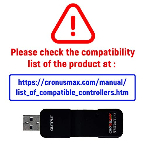 CronusMAX Plus 2015 Version Crossover Gaming Adapter travail avec PS4 PS3 Xbox One Xbox 360 PC Ordinateurs 4