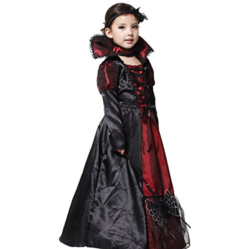 EOZY - Vampire Queen Costume - Vampire Girl Costume - Twilight - Girls Girls 'Dress And Accessories for Halloween Carnival, Cosplay 3