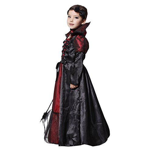 EOZY - Vampire Queen Costume - Vampire Girl Costume - Twilight - Girls Girls 'Dress And Accessories for Halloween Carnival, Cosplay 4