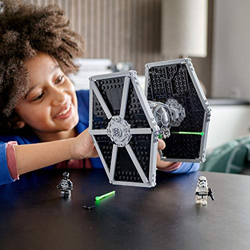 LEGO Star Wars 75300 TIE Fighter impérial Jeu de construction incluant Stormtrooper et figurines de la saga Skywalker 3