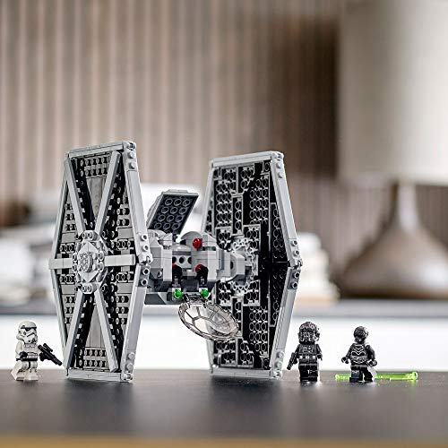 LEGO Star Wars 75300 TIE Fighter impérial Jeu de construction incluant Stormtrooper et figurines de la saga Skywalker 4