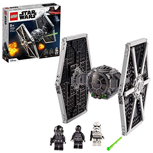 LEGO Star Wars 75300 TIE Fighter impérial Jeu de construction incluant Stormtrooper et figurines de la saga Skywalker 1