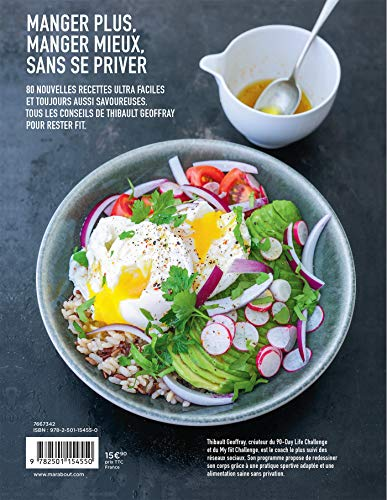 Mes recettes healthy #2: BAM ! 80 recettes fitfightforever pour te transformer 2