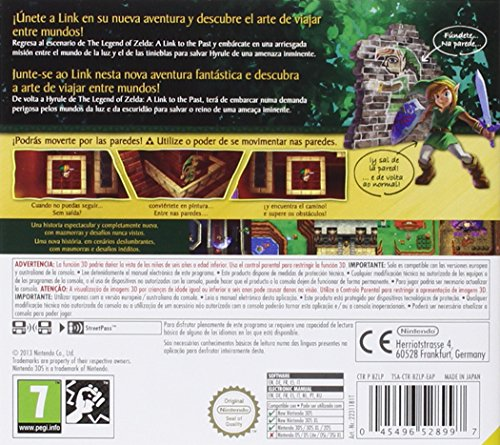 The Legend of Zelda: A Link between Worlds (Selects) 3DS 3