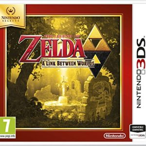 The Legend of Zelda: A Link between Worlds (Selects) 3DS 4
