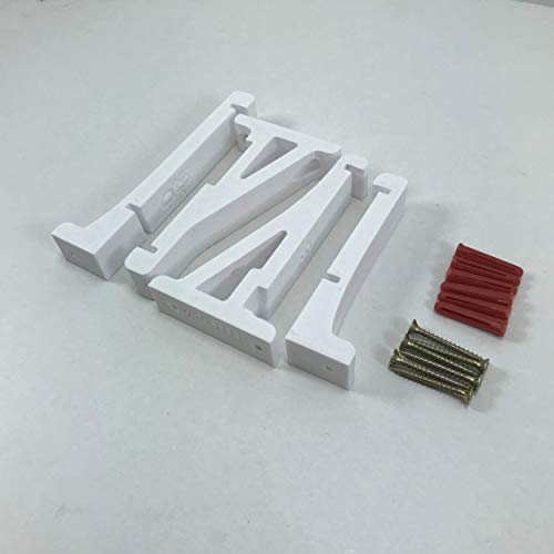 3D Cabin PS5 Wall Mount Wall Bracket Holder Stand For Play Station 5 Disc Corner Support Any Orientation White Left 2