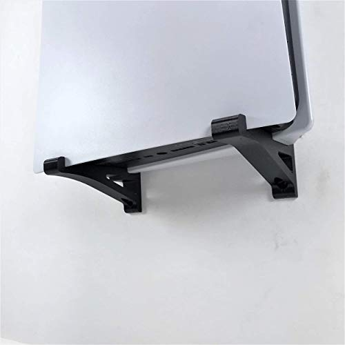 3D Cabin PS5 Wall Mount Wall Bracket Holder Stand For Play Station 5 Disc Corner Support Any Orientation White Left 4