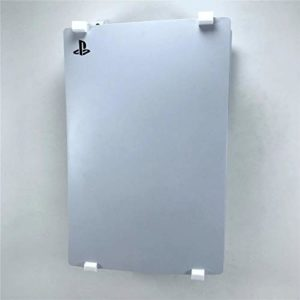 3D Cabin PS5 Wall Mount Wall Bracket Holder Stand For Play Station 5 Disc Corner Support Any Orientation White Left 5
