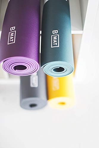 B YOGA Solide Long Tapis de Yoga, Deep Purple, 215,9 cm 4
