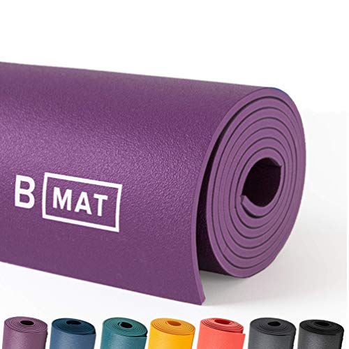 B YOGA Solide Long Tapis de Yoga, Deep Purple, 215,9 cm 1