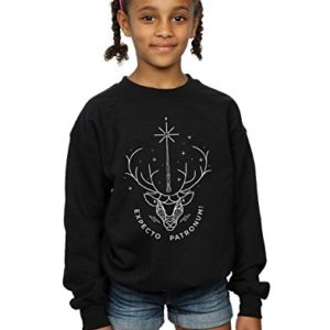 Harry Potter Fille Expecto Patronum Charm Sweat-Shirt 5