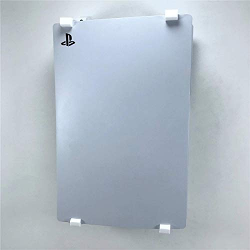 3D Cabin PS5 Wall Mount Wall Bracket Holder Stand For Play Station 5 Disc Corner Support Any Orientation Grey Left 3