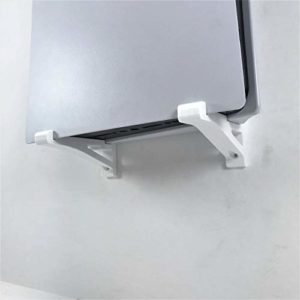 3D Cabin PS5 Wall Mount Wall Bracket Holder Stand For Play Station 5 Disc Corner Support Any Orientation Grey Left 5