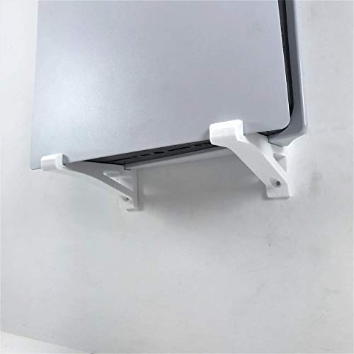 3D Cabin PS5 Wall Mount Wall Bracket Holder Stand For Play Station 5 Disc Corner Support Any Orientation Grey Left 1