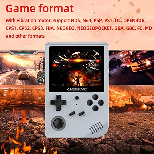 "Anbernic RG351V Retro Games Console 64GB with 2500 Games, Support PSP,NDS,DC,RK3326 Quad core 1.5GHz, WIFI Handheld Games Consoles 3.5""IPS 3"