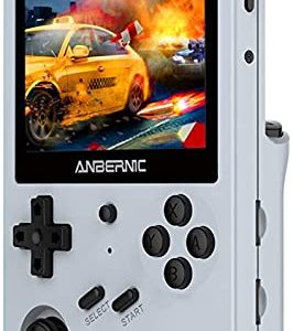 "Anbernic RG351V Retro Games Console 64GB with 2500 Games, Support PSP,NDS,DC,RK3326 Quad core 1.5GHz, WIFI Handheld Games Consoles 3.5""IPS 6"
