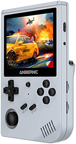 "Anbernic RG351V Retro Games Console 64GB with 2500 Games, Support PSP,NDS,DC,RK3326 Quad core 1.5GHz, WIFI Handheld Games Consoles 3.5""IPS 1"