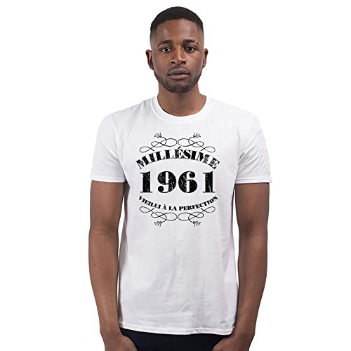 Bang Tidy Clothing T-Shirt Anniversaire Homme 60 Ans MillAsime 1961 4