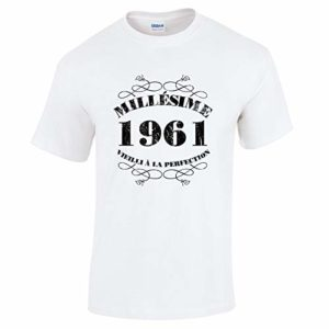 Bang Tidy Clothing T-Shirt Anniversaire Homme 60 Ans MillAsime 1961 5