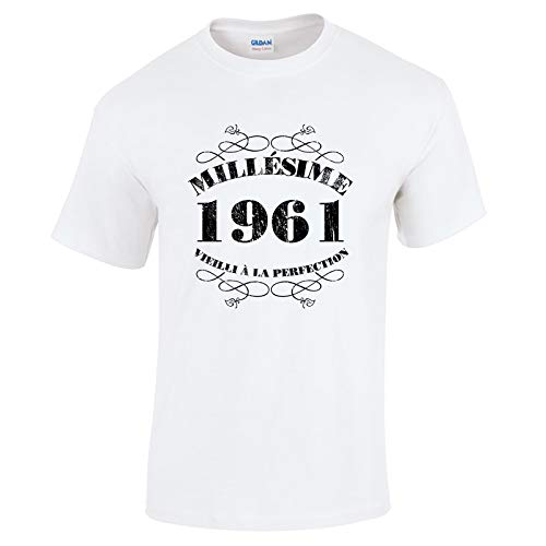Bang Tidy Clothing T-Shirt Anniversaire Homme 60 Ans MillAsime 1961 1