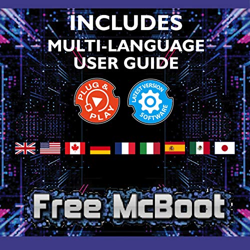 Kaico Free Mcboot 64MB PS2 Memory Card Running FMCB PS2 Mcboot 1.966 pour Sony Playstation 2 - FMCB Free Mcboot Your PS2 - Plug and Play - Playstation 2 CFW McBoot 1.966 4