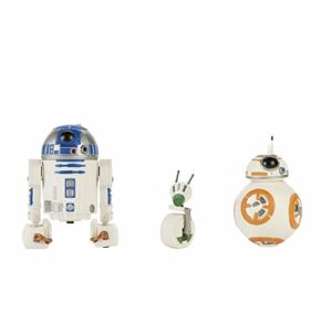 Star Wars Galaxy of Adventures - Pack de 3 Figurines articulées de Droïde de 12, 5 cm: R2-D2, BB-8, et D-O - Jouet 4