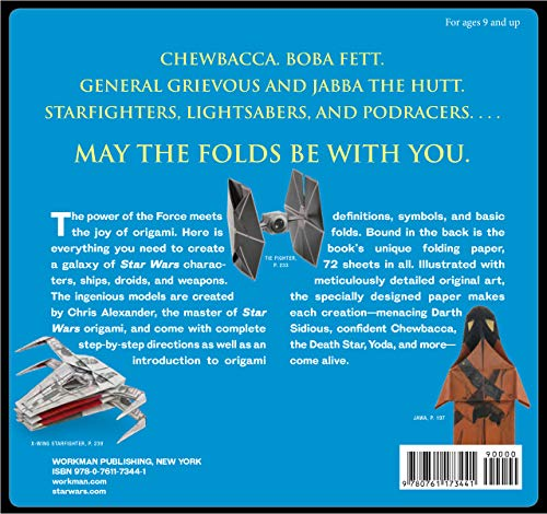 Star Wars Origami: 36 Amazing Paper-folding Projects from a Galaxy Far, Far Away... 2